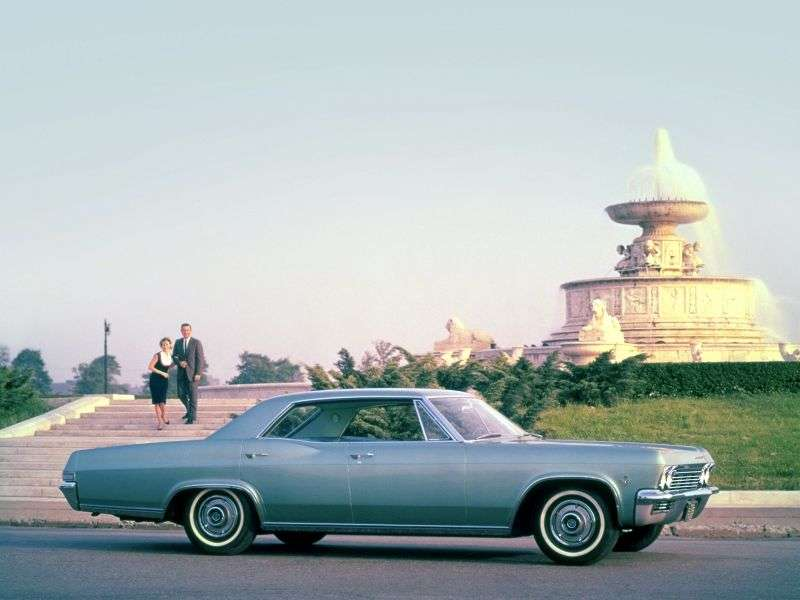 Chevrolet Impala 4th generation hardtop 3.8 MT Overdrive (1965–1965)