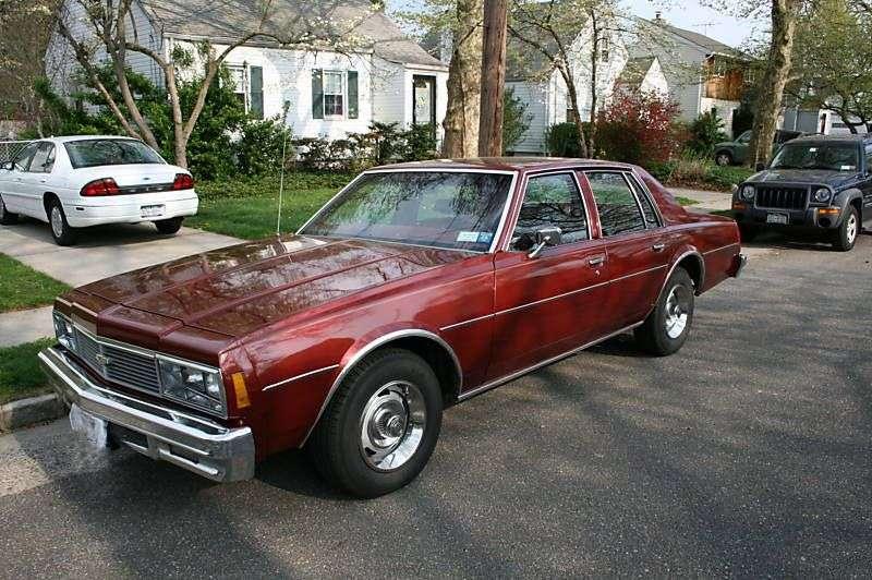 Chevrolet Impala 6th generation [2nd restyling] sedan 4.1 Turbo Hydra Matic (1979–1979)
