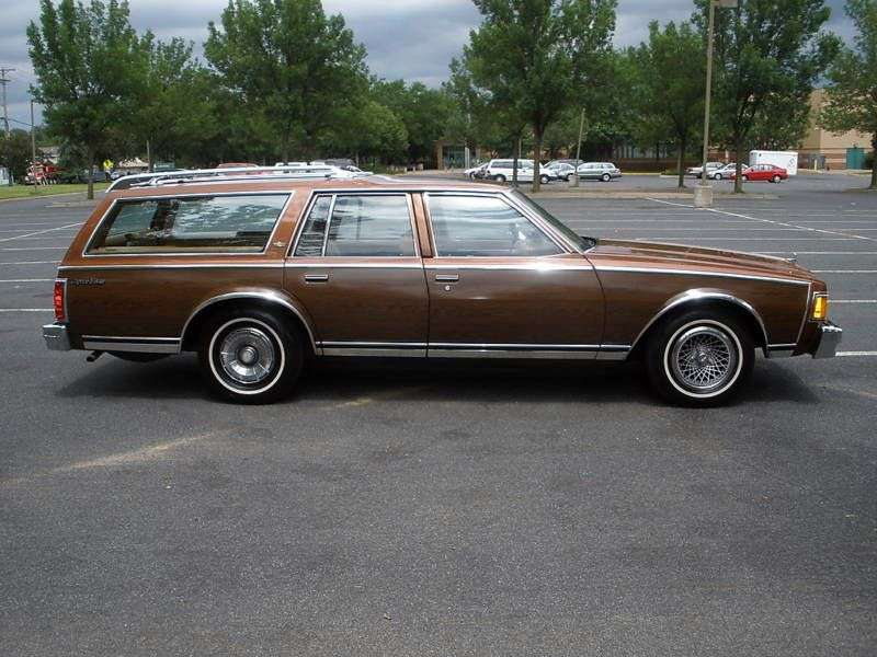 Chevrolet Impala 6th generation [restyling] station wagon 5.0 Turbo Hydra Matic 2 seat (1978 1978)