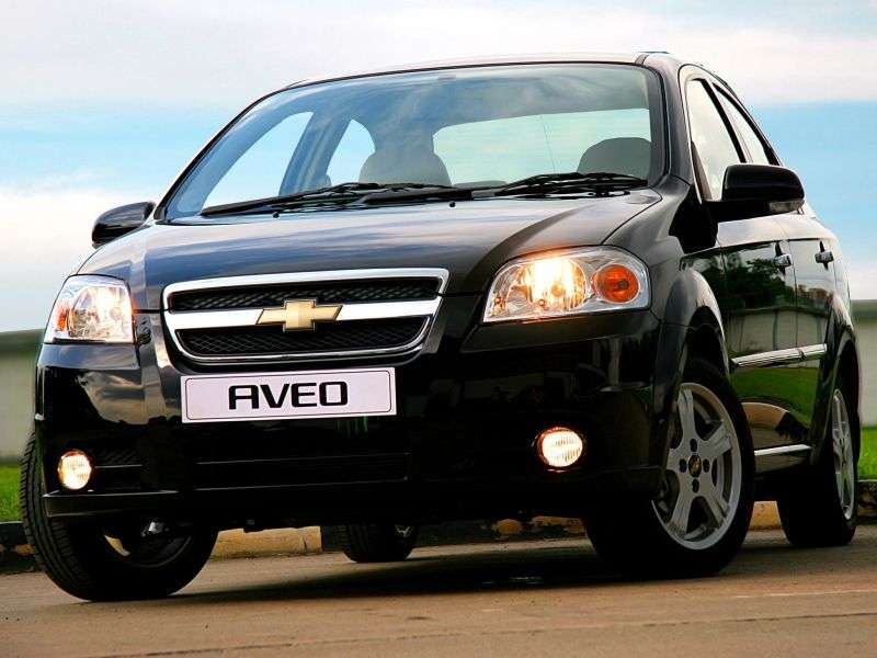Chevrolet Aveo T250 [restyling] sedan 1.4 LPG AT (2008–2011)