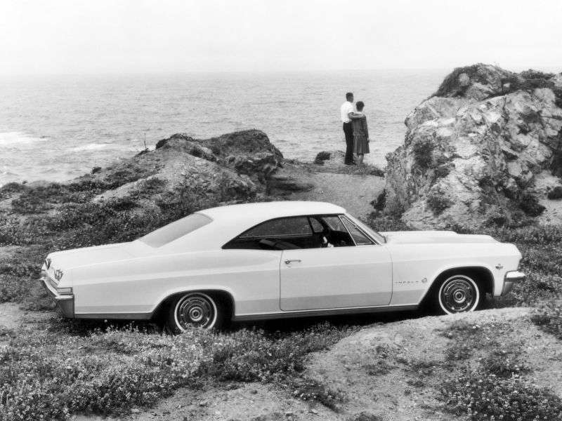 Chevrolet Impala 4th Generation Coupe 5.4 Powerglide (1965–1965)
