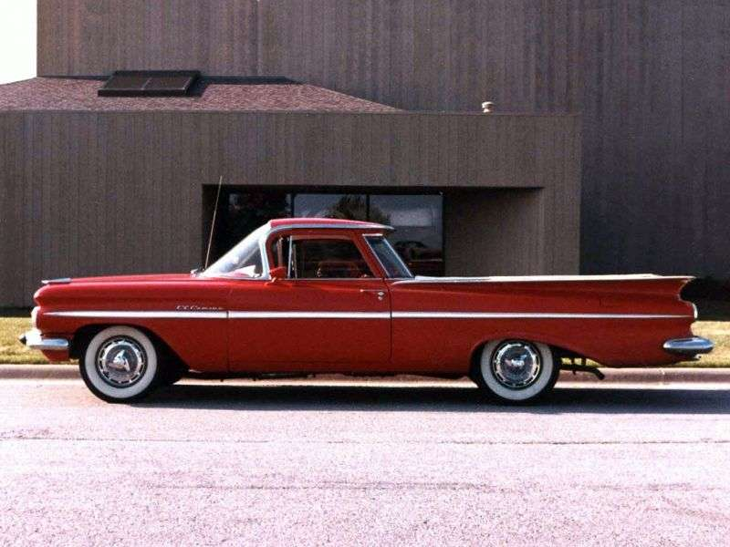 Chevrolet El Camino 1st generation [restyling] pickup 5.7 Powerglide HD 4400 (1960–1960)