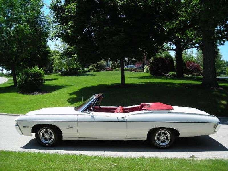 Chevrolet Impala 4th generation [3rd restyling] convertible 4.1 Powerglide (1968–1968)