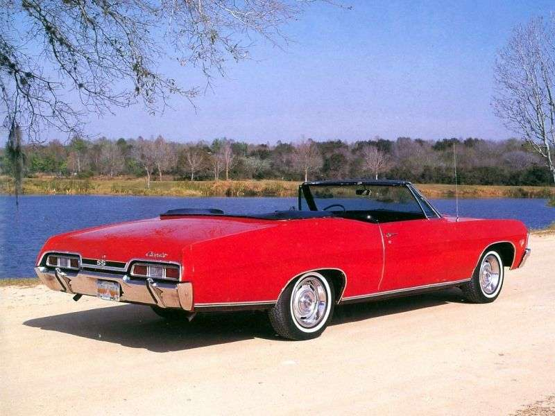 Chevrolet Impala 4th generation [2nd restyling] 5.4 3MT convertible (1967–1967)