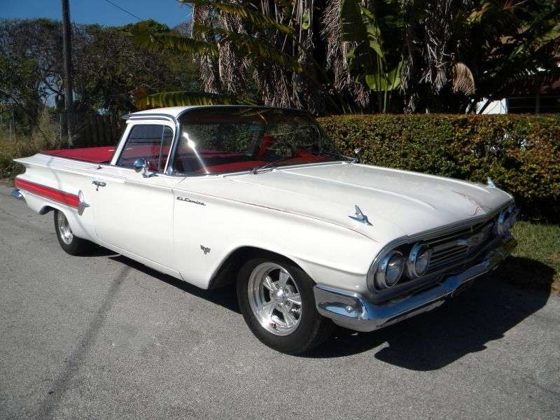 Chevrolet El Camino 1st generation [restyling] pickup 4.6 Powerglide 4900 (1960–1960)