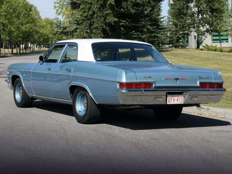 Chevrolet Impala 4th generation [restyling] 5.4 4MT sedan (1966–1966)