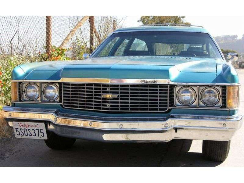 Chevrolet Impala 5th generation [3rd restyling] station wagon 7.4 Turbo Hydra Matic 2 seat (1974–1974)