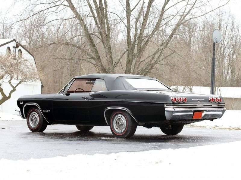 Chevrolet Impala 4th generation convertible 6.5 MT (1965–1965)