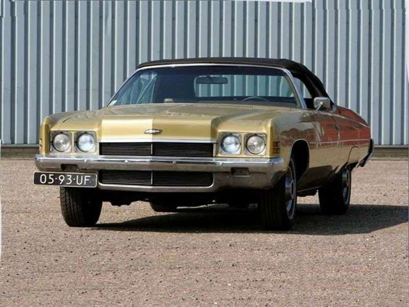 Chevrolet Impala 5th generation [restyling] 5.7 Turbo Hydra Matic convertible (1972–1972)