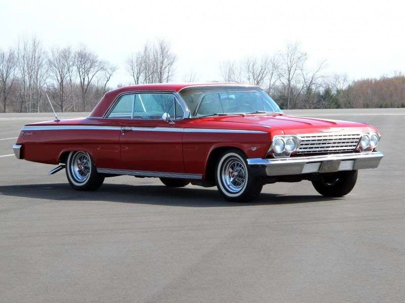 Chevrolet Impala 3rd generation [restyling] coupe 4.6 Powerglide (1962–1962)