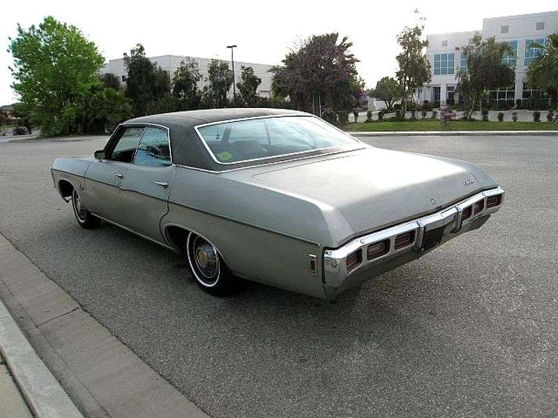 Chevrolet Impala 4th generation [4th restyling] 5.4 Hardboot Turbo Hydra Matic (1969–1969)