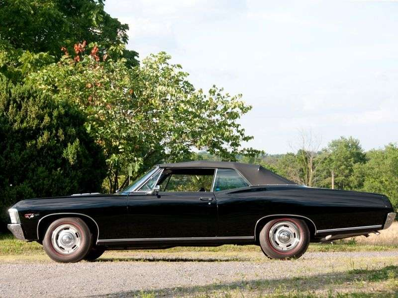 Chevrolet Impala 4th generation [2nd restyling] 5.4 Turbo Hydra Matic convertible (1967–1967)