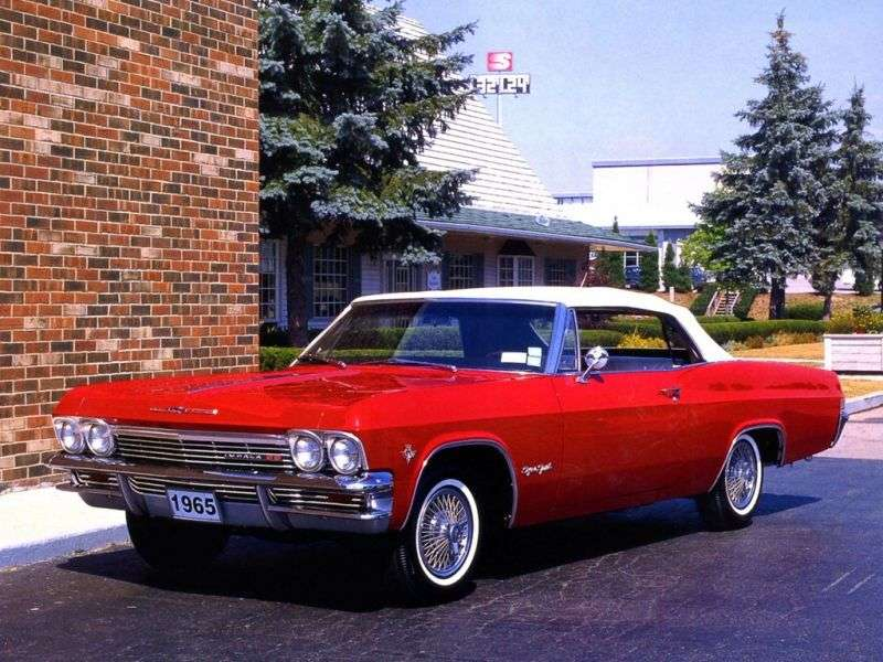 Chevrolet Impala 4th generation convertible 5.4 4MT (1965–1965)