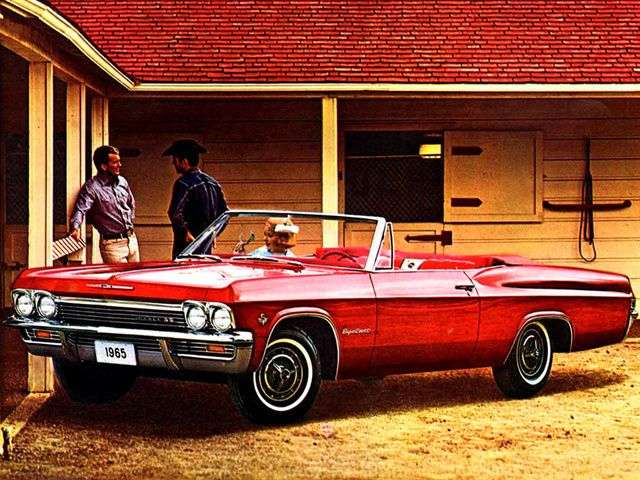 Chevrolet Impala 4th generation convertible 4.6 4MT (1965–1965)