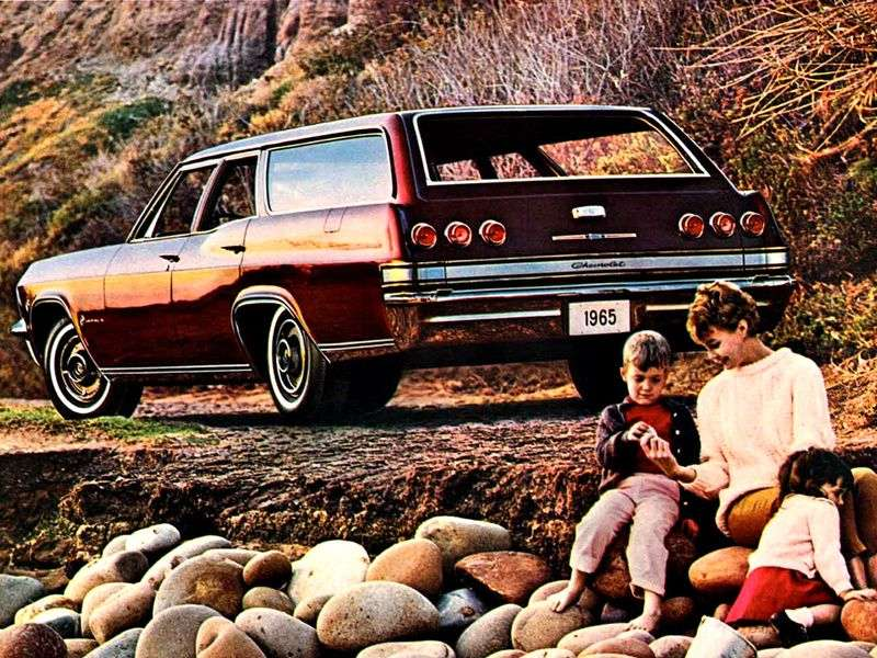 Chevrolet Impala 4th generation wagon 6.5 Powerglide 2 seat (1965–1965)