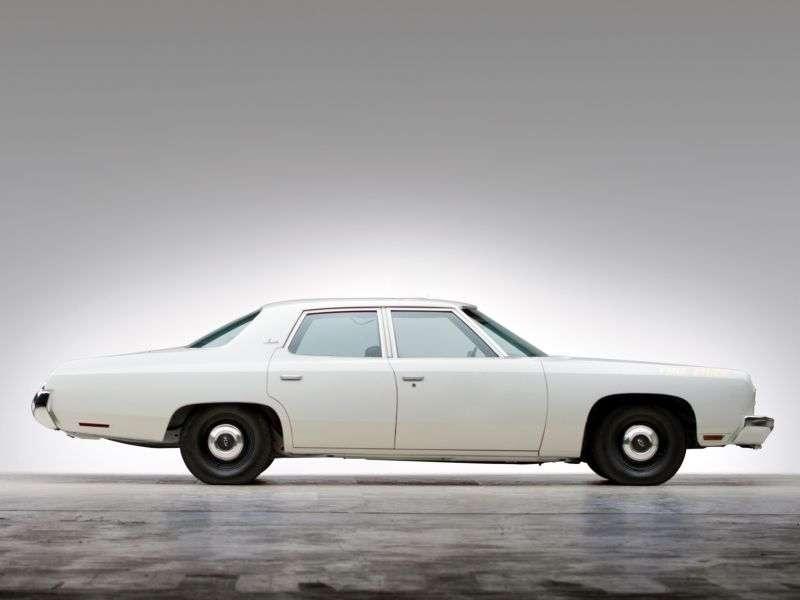 Chevrolet Impala 5th generation [2nd restyling] 7.4 Turbo Hydra Matic sedan (1973–1973)
