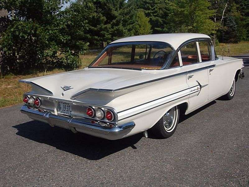 Chevrolet Impala 2nd generation [restyling] 4.6 Powerglide sedan (1960–1960)