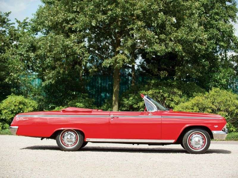 Chevrolet Impala 3rd generation [restyling] 3.9 MT convertible (1962–1962)