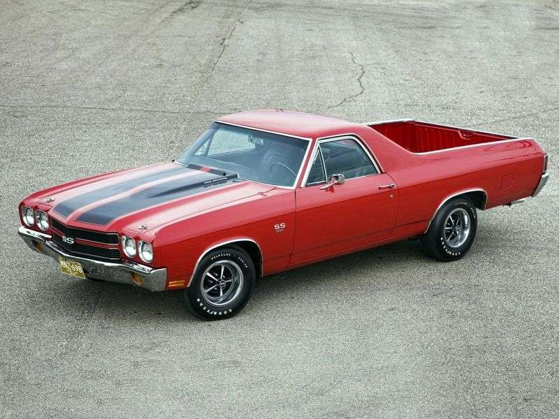 Chevrolet El Camino 3rd generation [2nd restyling] pickup 5.7 Powerglide (1970–1970)