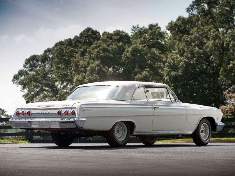 Chevrolet Impala 3rd generation [restyling] coupe 6.7 4MT (1962–1962)