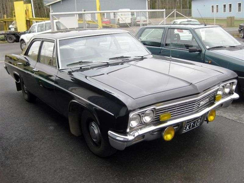 Chevrolet Impala 4th generation [restyling] sedan 4.6 4MT (1966–1966)