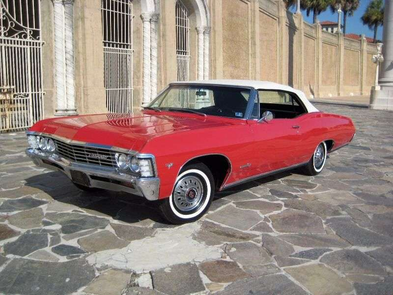Chevrolet Impala 4th generation [2nd restyling] 6.5 Powerglide convertible (1967–1967)
