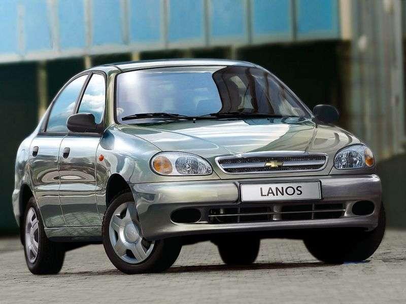 Chevrolet Lanos 1st generation sedan 1.5i MT (2005–2009)