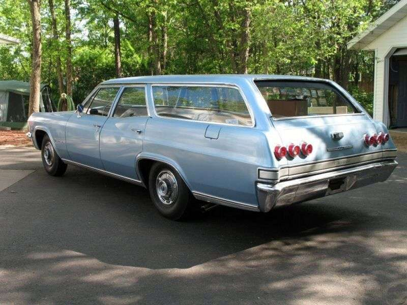 Chevrolet Impala 4th generation wagon 3.8 MT Overdrive 2 seat (1965–1965)