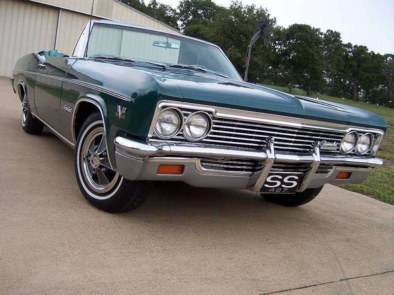 Chevrolet Impala 4th generation [restyling] convertible 4.6 4MT (1966–1966)