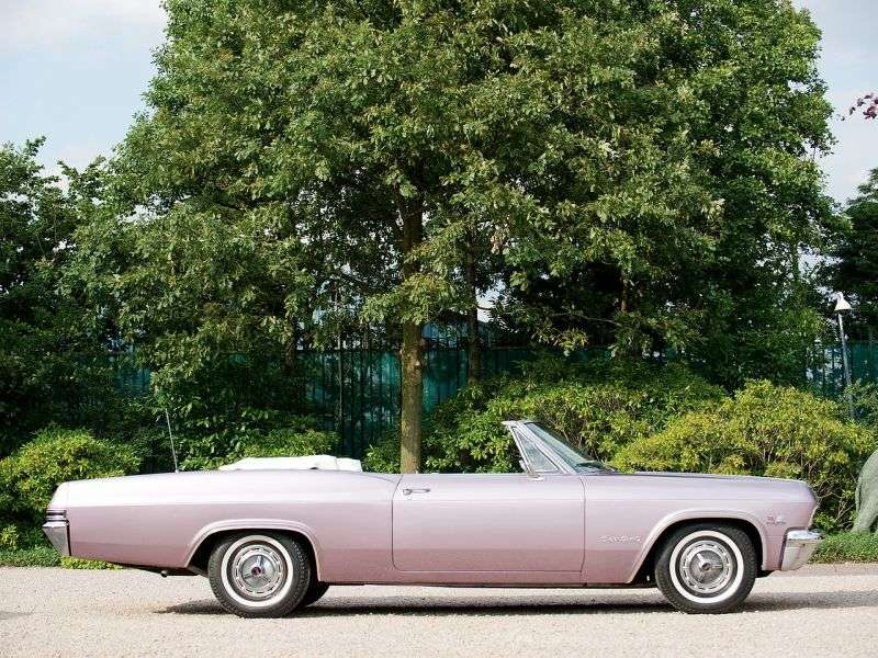 Chevrolet Impala 4th generation Convertible 5.4 Powerglide (1965–1965)