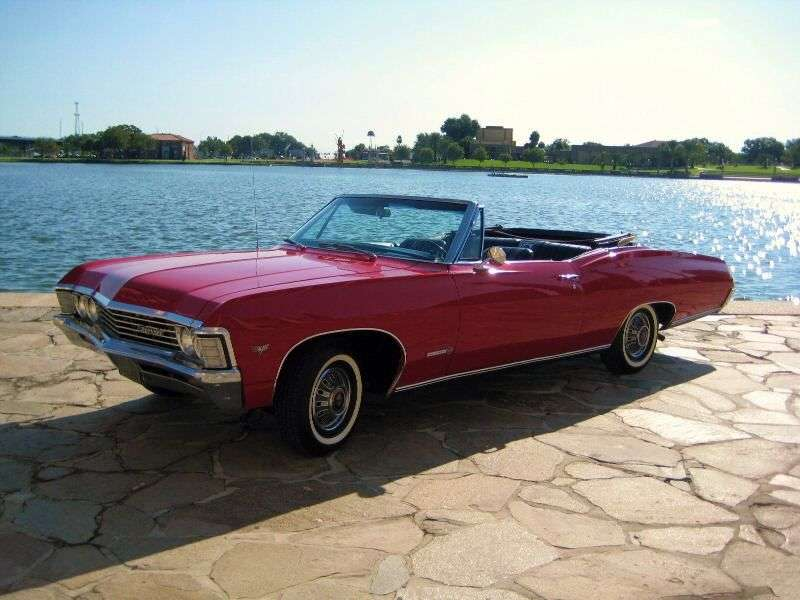 Chevrolet Impala 4th generation [2nd restyling] 4.6 MT Overdrive convertible (1967–1967)