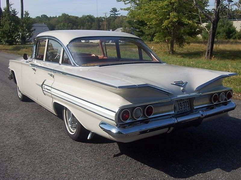 Chevrolet Impala 2nd generation [restyling] 5.7 Turboglide sedan (1960–1960)