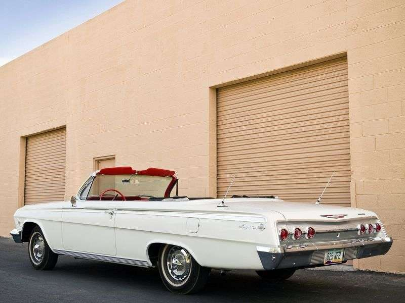 Chevrolet Impala 3rd generation [restyling] 6.7 3MT Convertible (1962–1962)