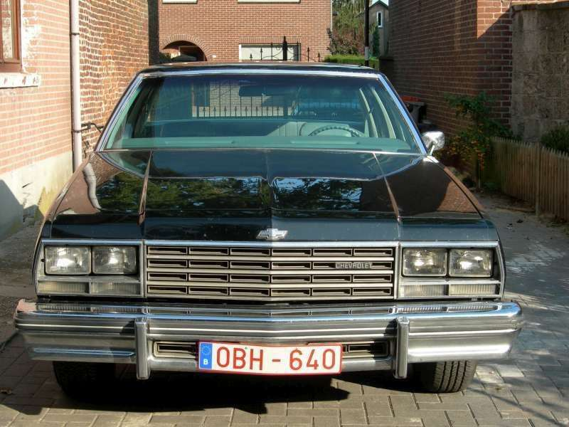 Chevrolet Impala 6th generation [restyling] 4.1 Turbo Hydra Matic sedan (1978–1978)