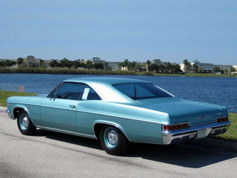 Chevrolet Impala 4th generation [restyling] coupe 6.5 Turbo Hydra Matic (1966–1966)