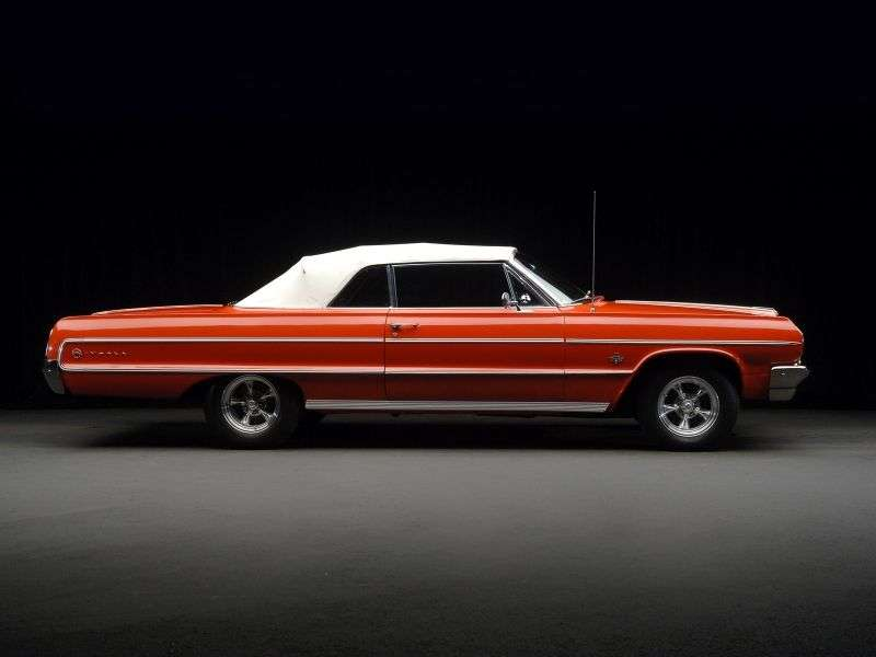 Chevrolet Impala 3rd generation [3rd restyling] 4.6 MT convertible (1964–1964)