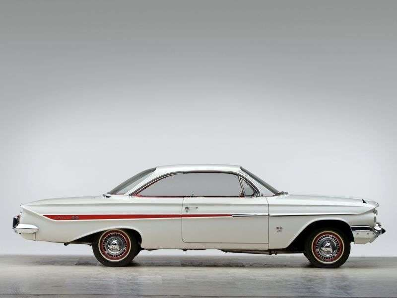 Chevrolet Impala 3rd generation coupe 3.9 MT Overdrive (1961–1961)