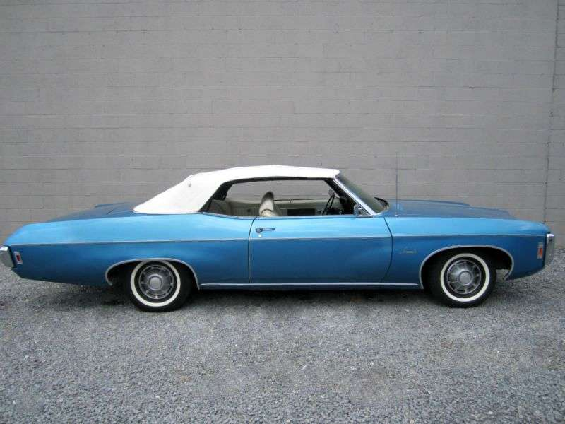 Chevrolet Impala 4th generation [4th restyling] 6.5 MT convertible (1969–1969)