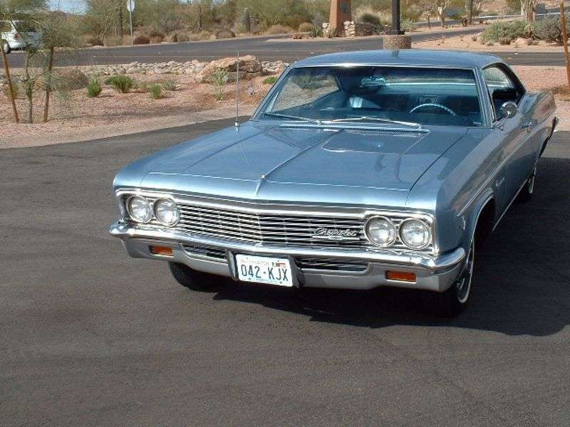 Chevrolet Impala 4th generation [restyling] coupe 4.6 MT Overdrive (1966–1966)