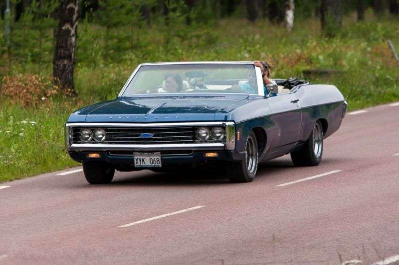 Chevrolet Impala 4th generation [4th restyling] 6.5 Turbo Hydra Matic convertible (1969–1969)