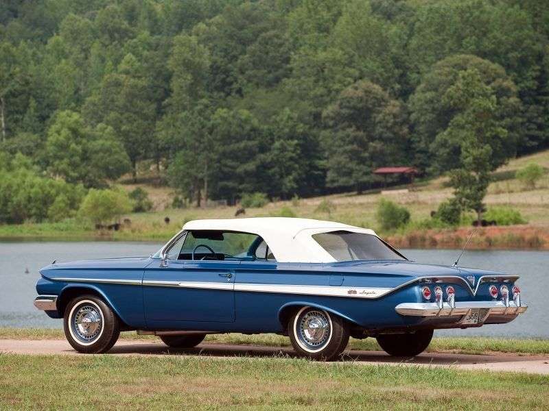 Chevrolet Impala 3rd generation convertible 6.7 3MT (1961–1961)