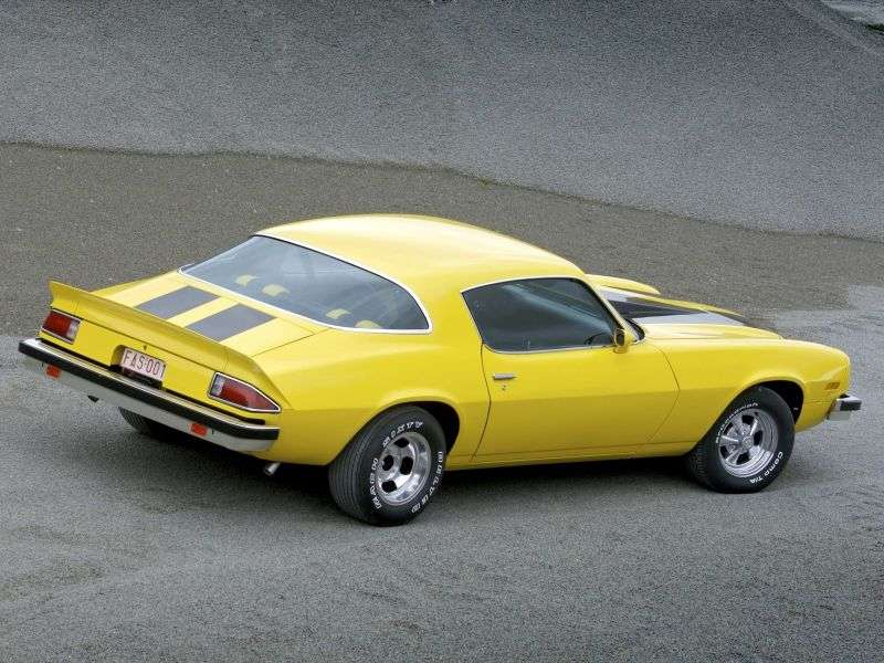 Chevrolet Camaro 2nd generation [restyling] coupe 2 bit. 5.7 3MT (1975–1977)