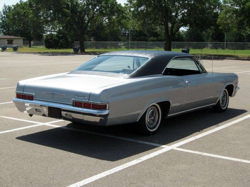 Chevrolet Impala 4th generation [restyling] Coupe 7.0 Turbo Hydra Matic (1966–1966)