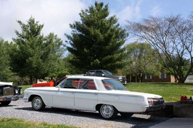Chevrolet Impala 3rd generation [restyling] hardtop 6.7 3MT (1962–1962)