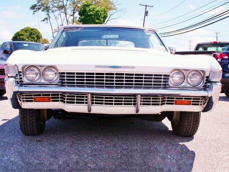 Chevrolet Impala 4th generation [3rd restyling] coupe 2 dv. 6.5 Powerglide (1968–1968)