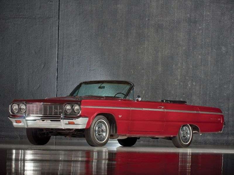 Chevrolet Impala 3rd generation [3rd restyling] 4.6 MT Overdrive convertible (1964–1964)