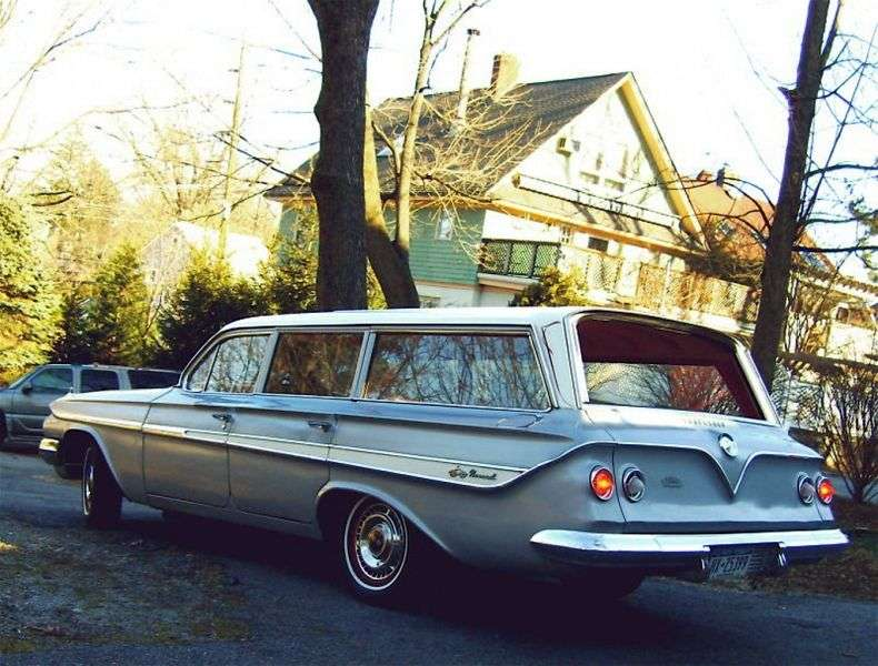 Chevrolet Impala 3rd generation wagon 3.9 MT Overdrive 2 seat (1961–1961)