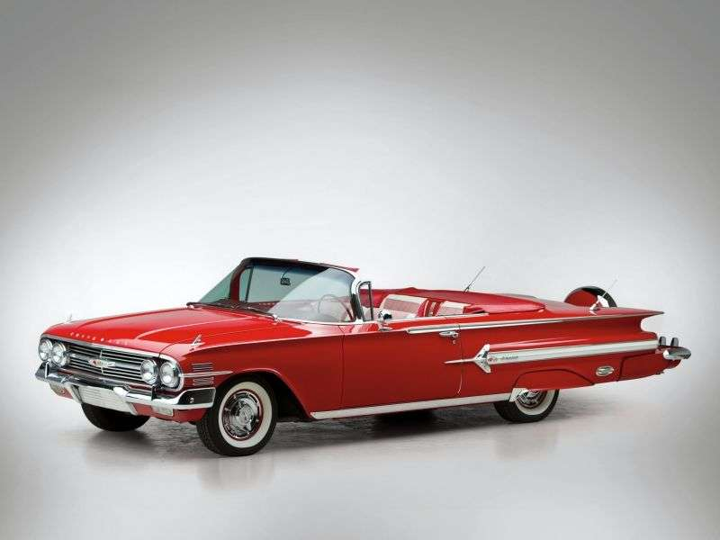 Chevrolet Impala 2nd generation [restyling] 5.7 Powerglide convertible (1960–1960)