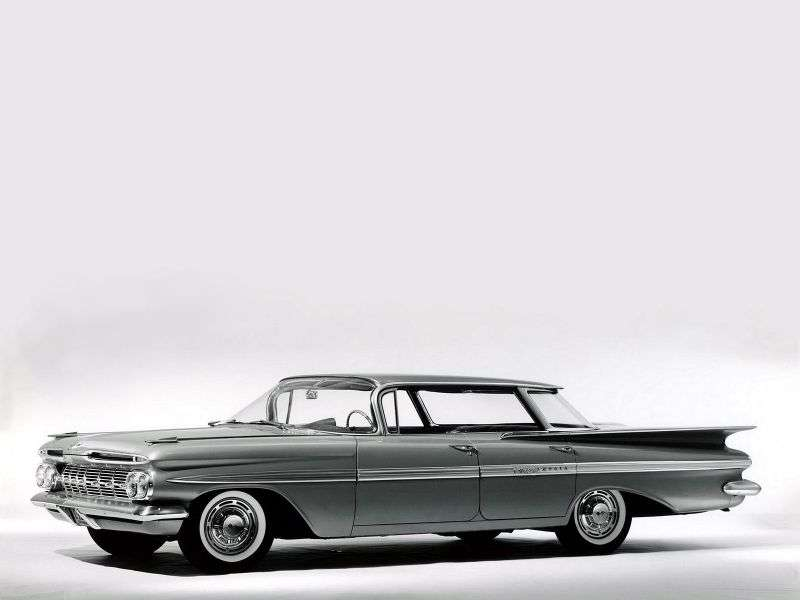 Chevrolet Impala 2nd generation Sport sedan 3.9 MT Overdrive (1959–1959)