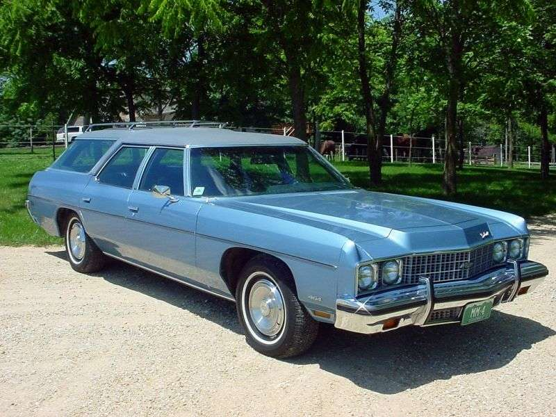 Chevrolet Impala 5th generation [2nd restyling] station wagon 7.4 Turbo Hydra Matic 3 seat (1973–1973)